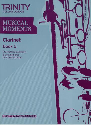 Musical Moments Book 5 for Clarinet