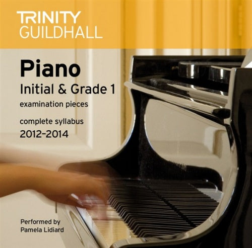 Trinity Guildhall: Piano 2012-2014 Initial & Grade 1 (CD)