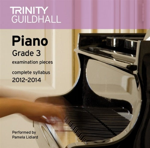 Trinity Guildhall: Piano 2012-2014 Grade 3 (CD)