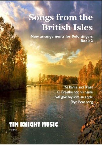 Folk songs from the British Isles (Volume 2)