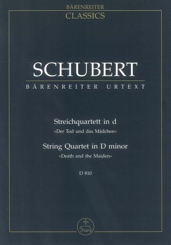 String Quartet in D minor 'Death and the Maiden' D.810 (Study Score)