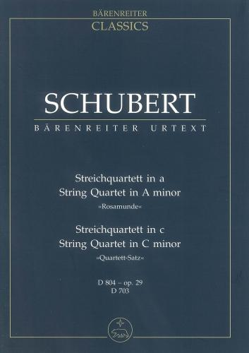 String Quartet in A minor (Rosamunde) (D.804)