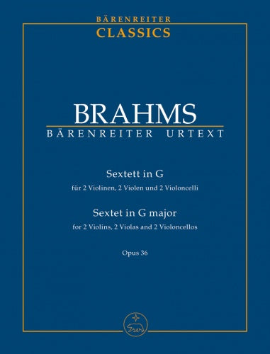 String Sextet in G major Op.36 (Urtext) Study Score