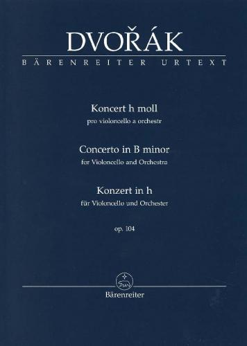 Antonín Dvorák: Cello Concerto in B Minor - Study Score