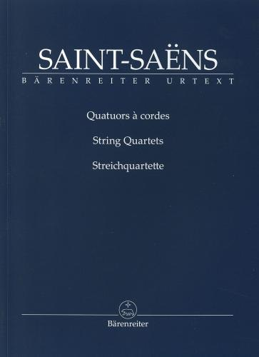 Camille Saint-Saëns: The String Quartets - Study Score