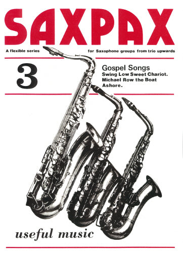 Sax Pax 3 - Gospel Songs (Saxophone Quartet)