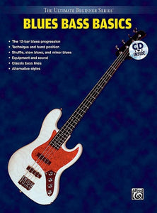 Ultimate Beginner Blues Bass Steps 1 & 2 Combined (Book & CD)