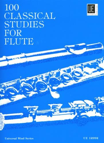 100 Classical Studies for Flute Solo, edited by Frans Vester