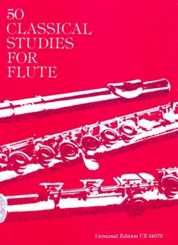 Vester: 50 Classical Studies for Flute