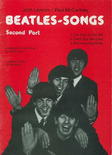 Beatles Songs for Choir (SATB) Volume 2 (Choral (mixed Voices))