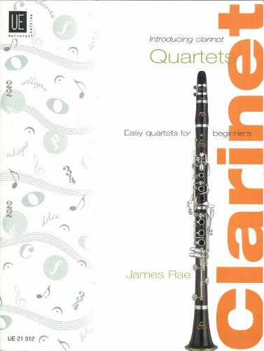 Introducing Clarinet – Quartets (Score & Parts)