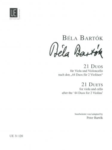 21 Duets (Viola & Cello) from
