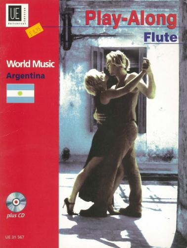 World Music Argentina Play-a-Long for Flute