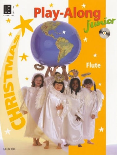 World Music Junior Play-Along: Christmas (Flute) Book & CD
