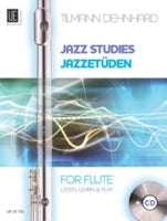 Dehnhard: Jazz Studies with CD (Flute)