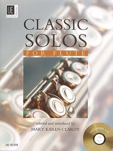 Classic Solos for Flute (Book & CD)