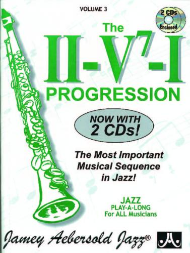 Jamey Aebersold Jazz: Vol 3, The II-V7-I Progression