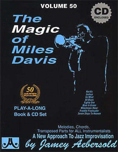 Aebersold Volume 50 - The Magic Of Miles Davis (Book & CD)