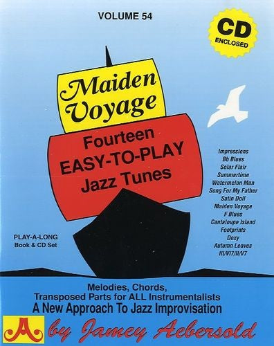 Aebersold Volume 54 - Maiden Voyage (Book & CD)