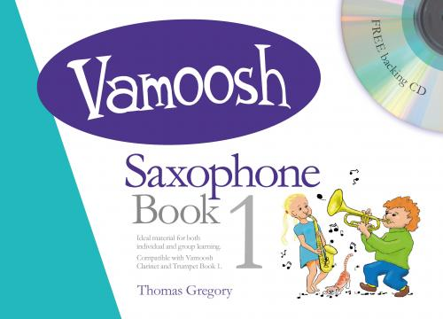 Vamoosh Saxophone Book 1 Book & CD