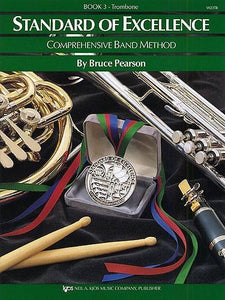 Pearson: Standard of Excellence Book 3 (Trombone Bass Clef)
