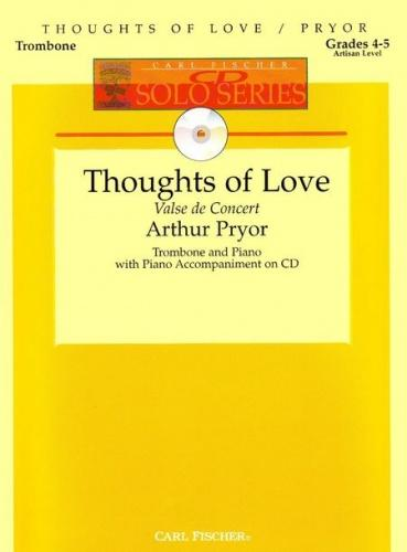 Thoughts of Love (Valse de Concert) with Audio Download