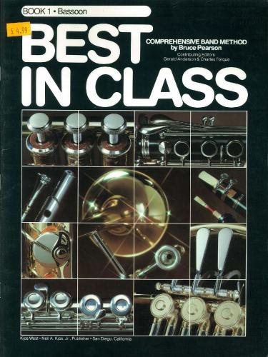 Best in Class - Bassoon Book 1
