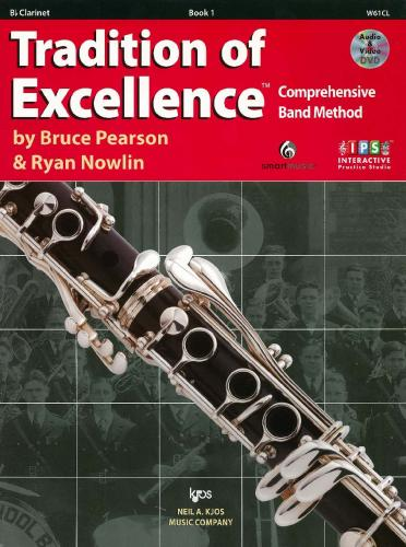 Tradition of Excellence - Book 1 - Clarinet in Bb (includes Audio & Video)