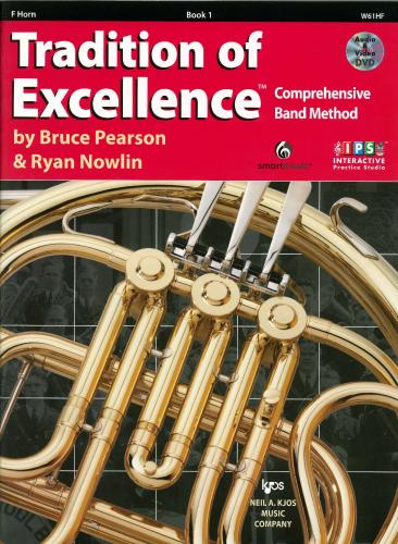 Tradition of Excellence - Book 1 - Horn in F