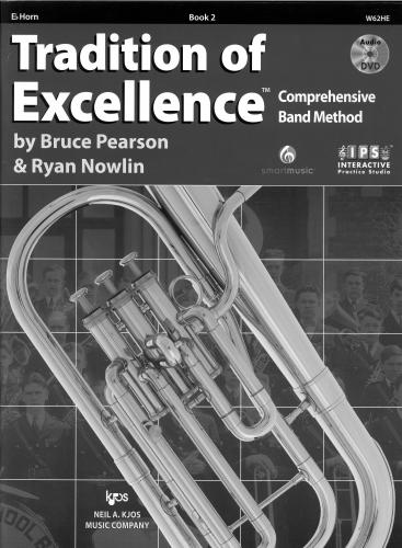 Pearson/Nowlin: Tradition of Excellence - Book 2 - Horn in Eb