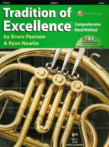 Tradition of Excellence - Book 3 - F Horn (includes Audio & Video Access)