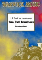 Bach: Two Part Inventions (Trombone Duet)