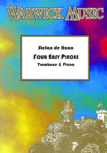 De Haan - Four Easy Pieces - Trombone & Piano ( TC & BC )