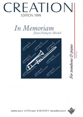 Jean-Francois Michel: Creation Edition 1999 (Trombone (bc) & Piano)