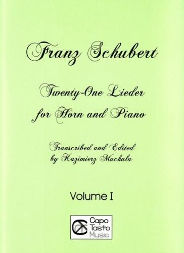 21 Lieder for Horn (in F) and Piano - Volume 1