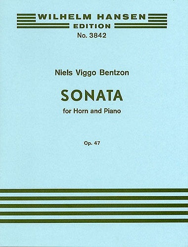 Bentzon: Sonata for Horn and Piano Op.47