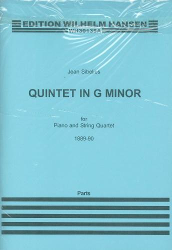 Jean Sibelius: Quintet in G Minor - String Parts Only