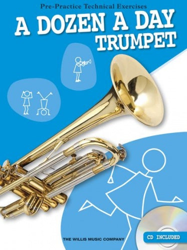 A Dozen A Day - Trumpet (with CD)