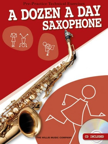 A Dozen A Day - Saxophone (with CD)