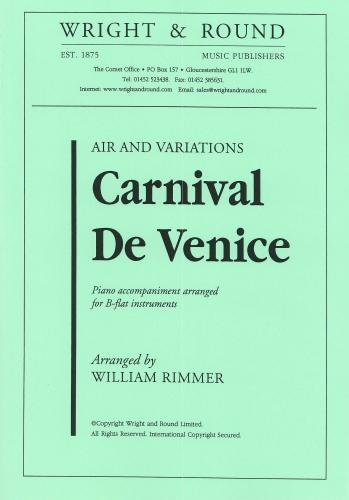 William Rimmer: Carnival of Venice (Difficult Air and Variations)