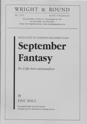 Eric  Ball: September Fantasy (Horn In Eb & Piano)