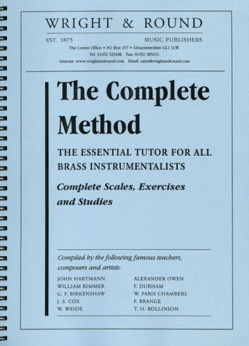 The Complete Method A50 (Tutor for valved brass) Wright & Round