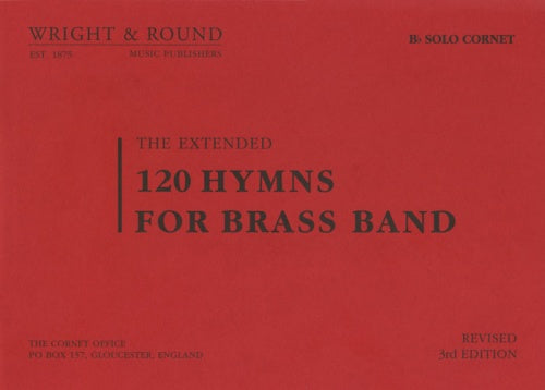 120 Hymns for Brass Band (Bb Solo Cornet) A2