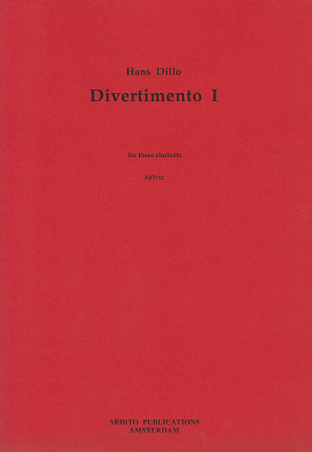 Dillo: Divertimento - 3 clarinets