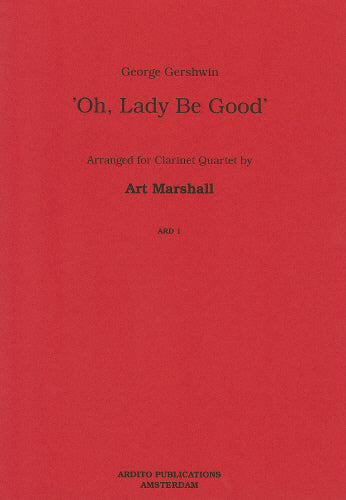 Gershwin: Oh, Lady be Good - 3 clarinets and bass clarinet