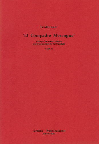 Marshall: El Compadre Merengue - 3 clarinets and bass clar