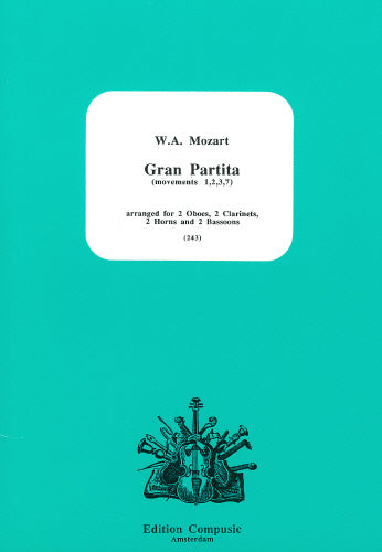 Mozart: Gran Partita  (movements 1,2,3,7) - W/W (Wind Ensemble)