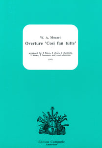 Mozart: Overture Cosi fan tutte - wind ensemble