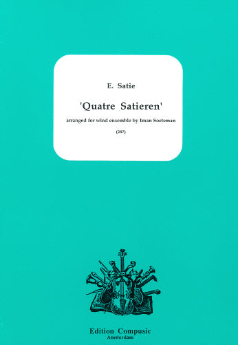 Quatre Satieren - wind ensemble