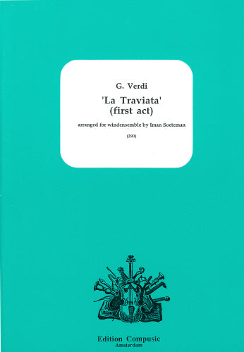 Verdi: Traviata-first act - double wind quintet, DB + trp